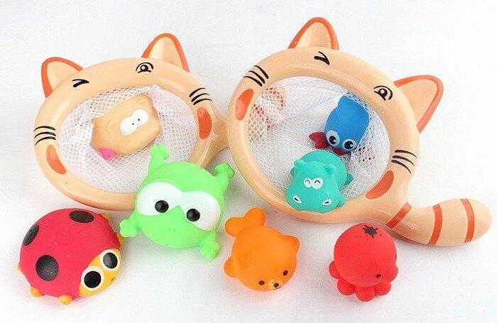 夏日貓貓長頸鹿洗澡玩水魚撈 618購物節