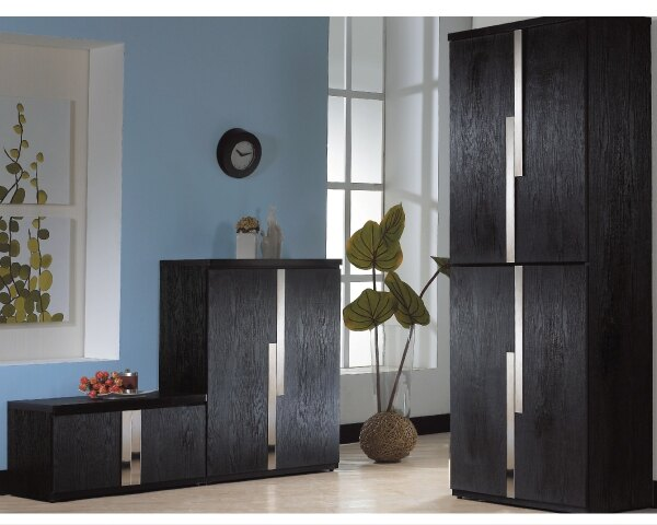 【YUDA】艾克 2.7尺 黑色座鞋櫃 J8F 301-1