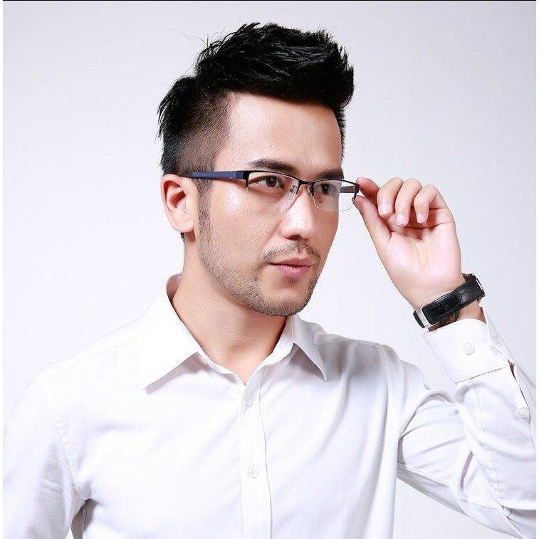 8053 時尚 布里克 鋼板 半框 全框 眼鏡框 眼鏡架男士時尚新款批發鎢鈦塑鋼DIGITAL INTERNA1122劉