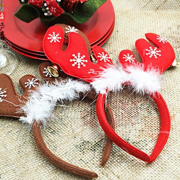 創意 聖誕節 聖誕禮物 聖誕髮箍 聖誕裝 聖誕主題 聖誕裝飾 聖誕樹 雪花 頭箍