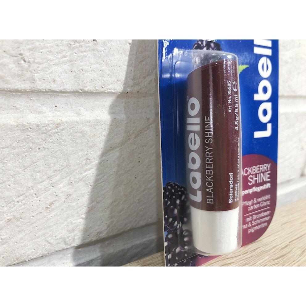 德國 Labello 黑莓口味 潤色護唇膏