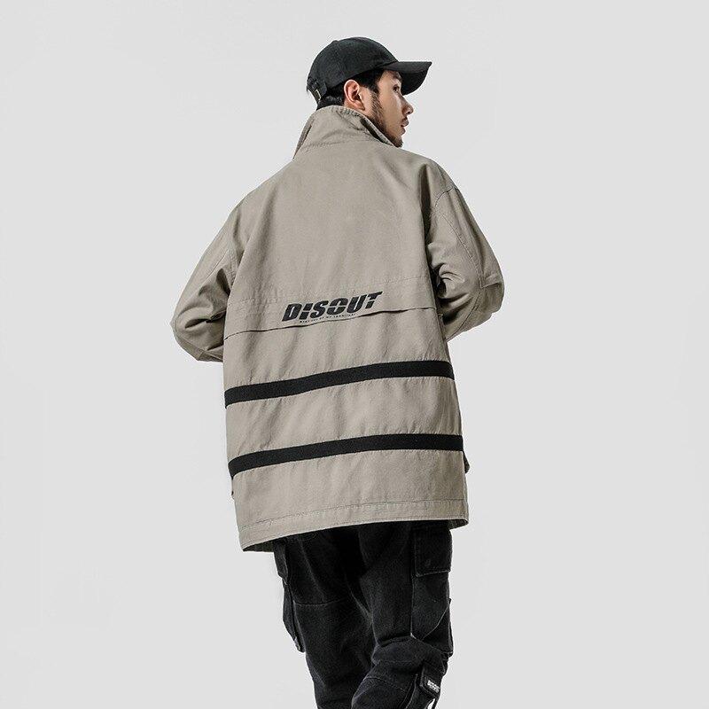 LINAGI里奈子【DAF9008-81955】工裝外套工裝寬鬆長板風衣