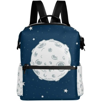 天体 星 広い リュック 学生用 デイパック レディース 大容量 バックパック 男女兼用 機能性 大容量 防水性 デザイン 旅行 ブックバッグ ファション