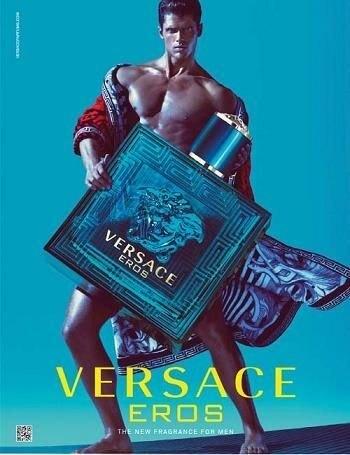 Versace Eros 凡賽斯 艾諾斯情緣 愛神 男性淡香水 100ML◐香水綁馬尾◐