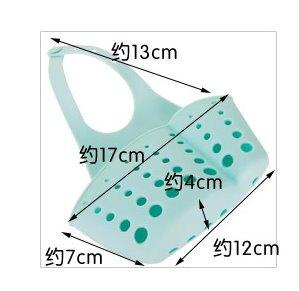 【大量現貨】廚房創意 多功能水龍頭吊掛式瀝水收納袋/單入
