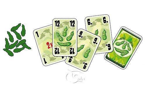 黃瓜五兄弟 Five Cucumbers 繁體中文版 高雄龐奇桌遊 正版桌遊專賣 新天鵝堡