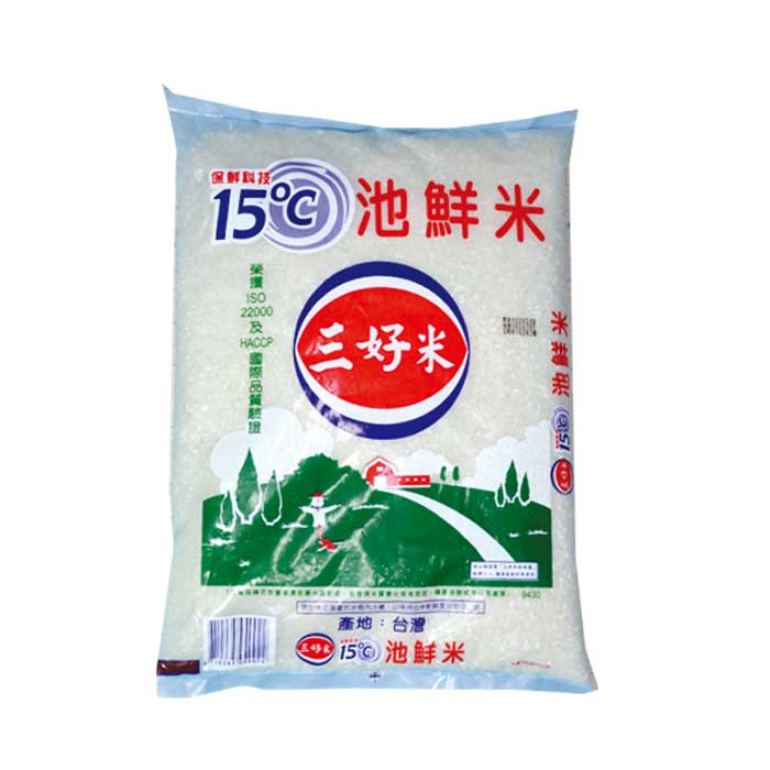 三好米 池鮮米 3.4kg (8入)/箱【康鄰超市】
