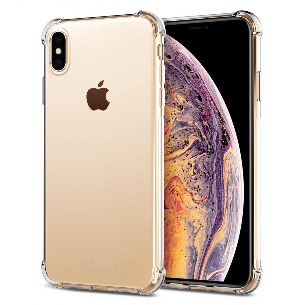 SEIDIO OPTIK™ 四角氣墊輕透手機保護殼for Apple iPhone XS MAX