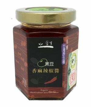 一箱 24入有機台灣原生種黑豆香麻辣椒醬