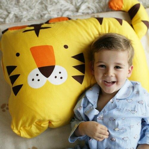 美國 Milo & Gabby 動物好朋友-大枕頭套--TOM小虎