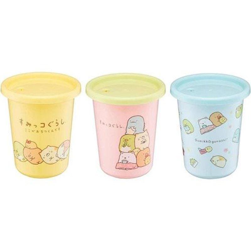 (單入不挑款)日本製 Skater 角落生物 兒童吸管水杯組 320ml 吸管杯/學習杯/飲料杯*夏日微風*