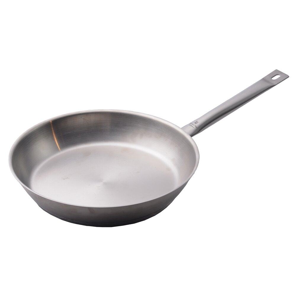 【德國WMF】Gourmet Plus 不鏽鋼平底鍋 煎鍋 炒鍋 單柄鍋 24cm 德國製 -618年中慶