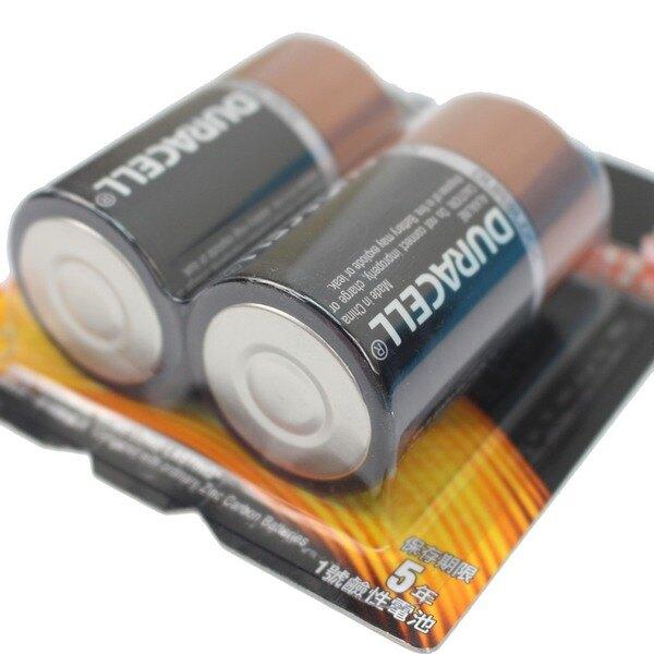 金頂電池 D-2 1號鹼性電池 1號電池/一卡2個入{促140}正台灣代理商進口(非一般收縮密封水貨)