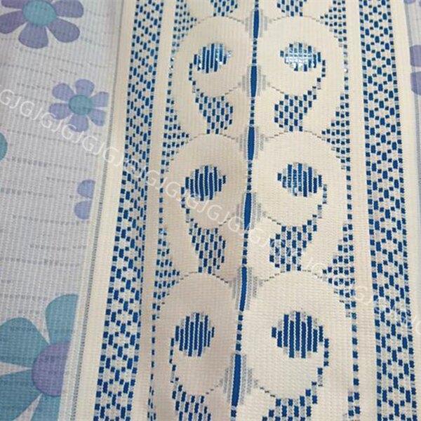 JG附發票~藍色 花朵門簾 針織紗長門簾可當風水簾,尺寸約85*150公分,壁簾 櫃簾 不附門簾桿
