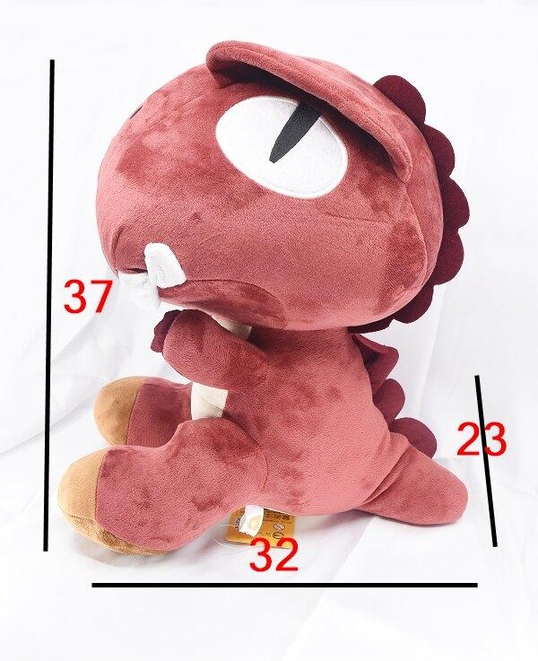 恐龍 18吋玩偶,絨毛/填充玩偶/玩具/公仔/抱枕/靠枕/娃娃,X射線【C032830】
