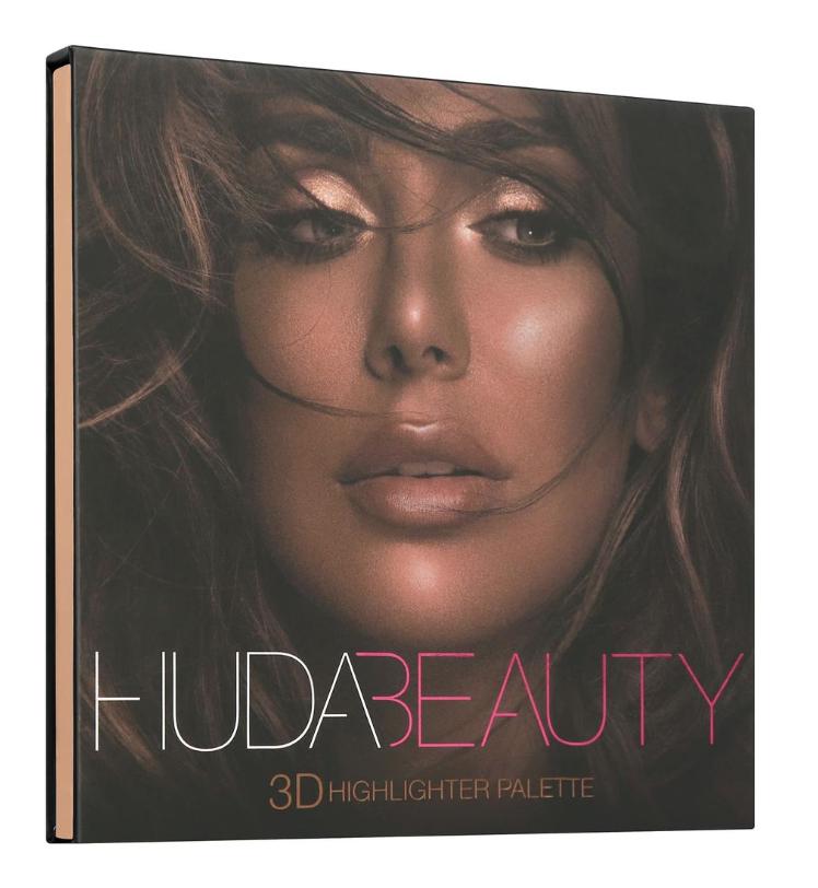 HUDA BEAUTY3D 打亮修容盤Bronze Sands 3D Highlighter Palette