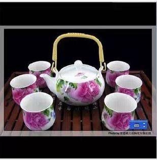 骨瓷茶具;貴妃;7頭提梁壺居家