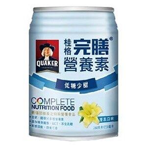 桂格完膳營養素 (香草-低糖少甜) 250mlX24罐/箱 衛福部核准之特殊營養食品 專品藥局 【2011588】