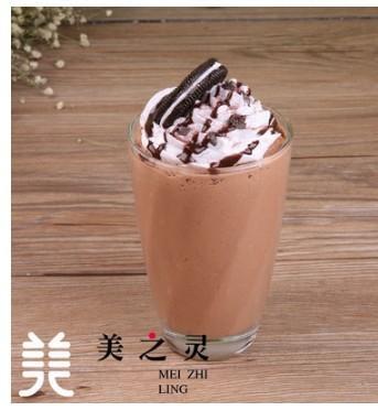 仿真咖啡冰沙巧克力冰樂模型