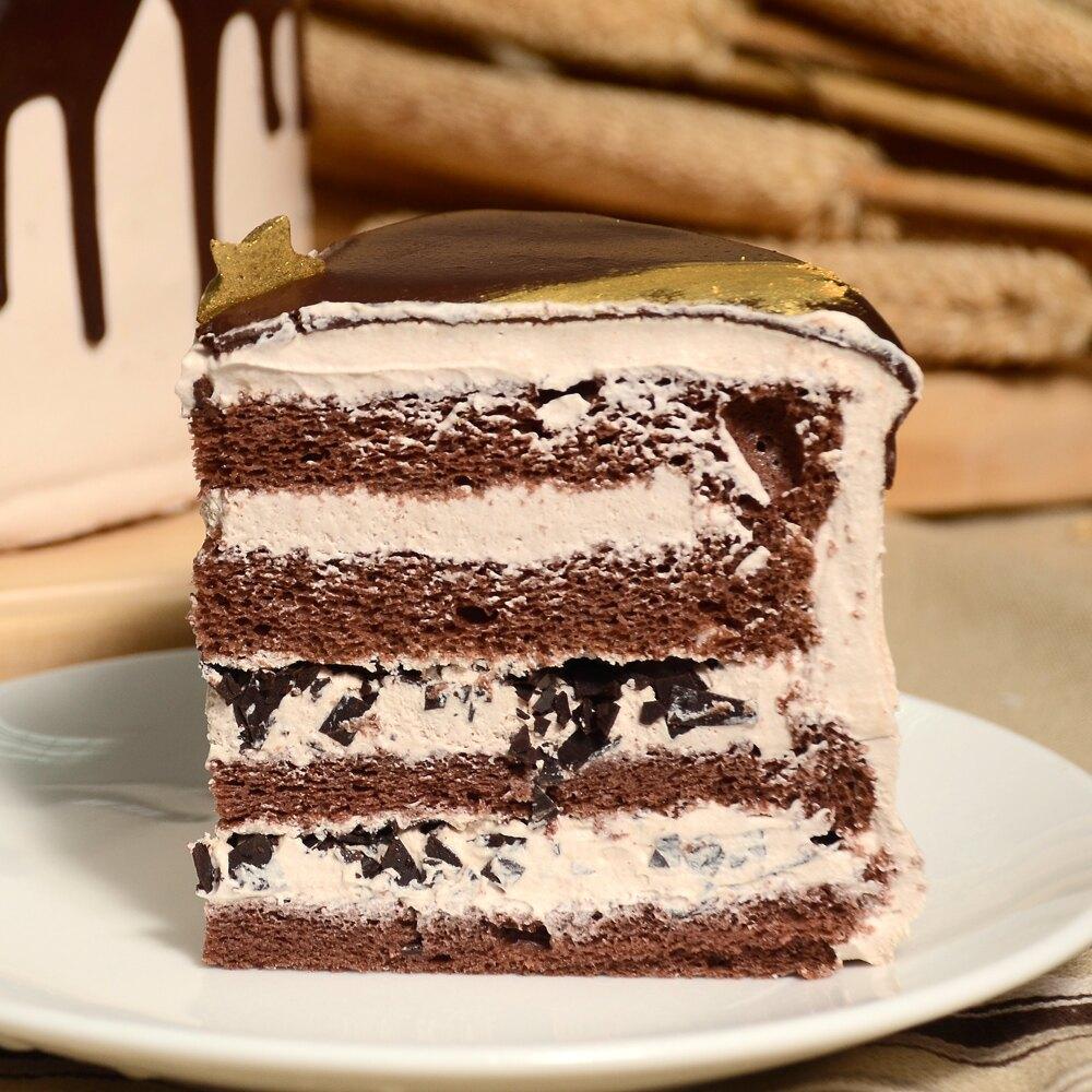 宅配-艾波索【極光醇黑巧克力6吋】蘋果日報蛋糕評比亞軍!好吃濃郁不膩口,獨家四層蛋糕體