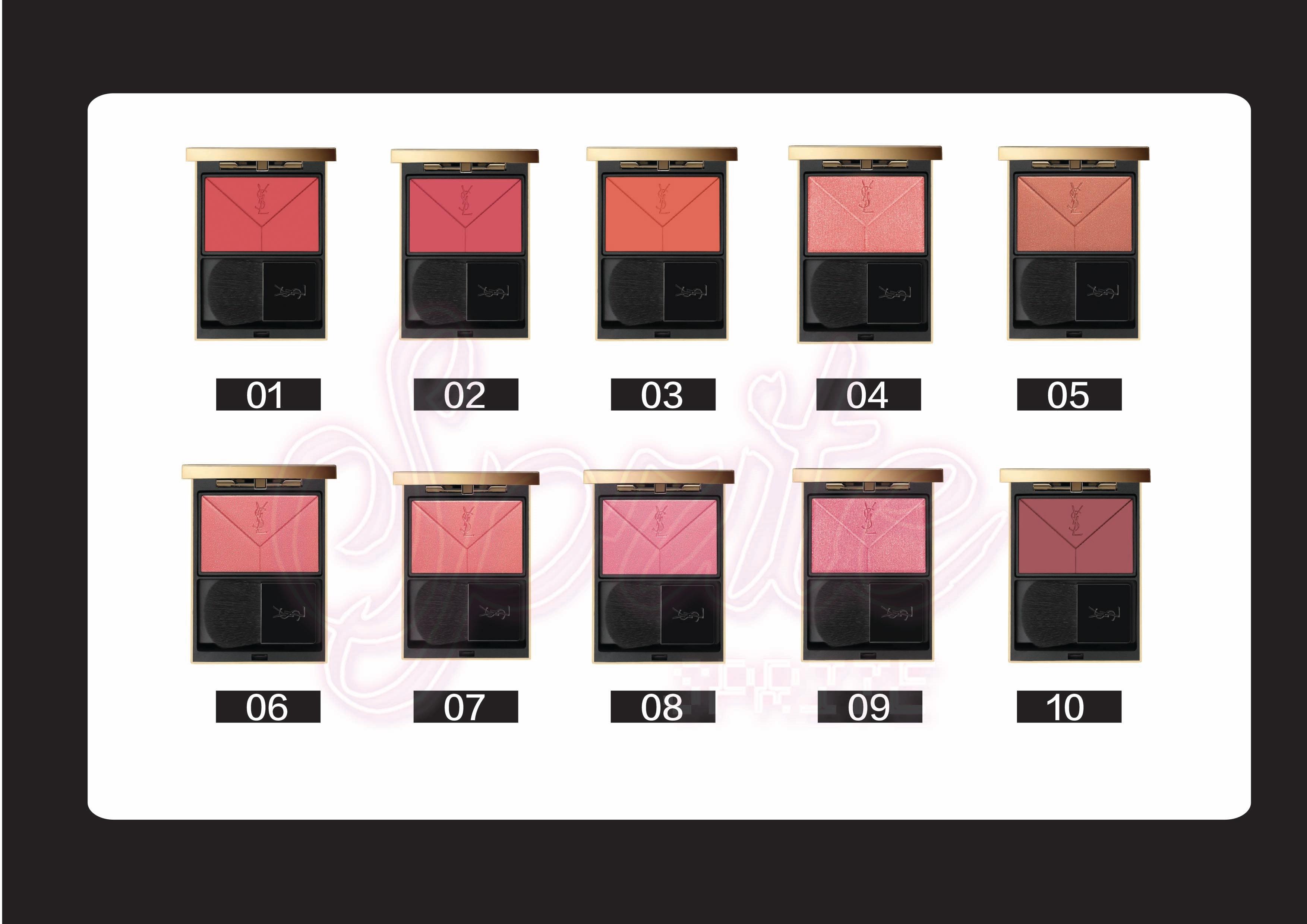 YSL聖羅蘭時尚宣言訂製腮紅Couture Blush