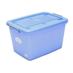 keyway聯府AK1200銀采滑輪整理箱 收納 分類 換季箱 整理櫃 堆疊箱 雙耳 附輪 滑輪 雙扣(伊凡卡百貨)