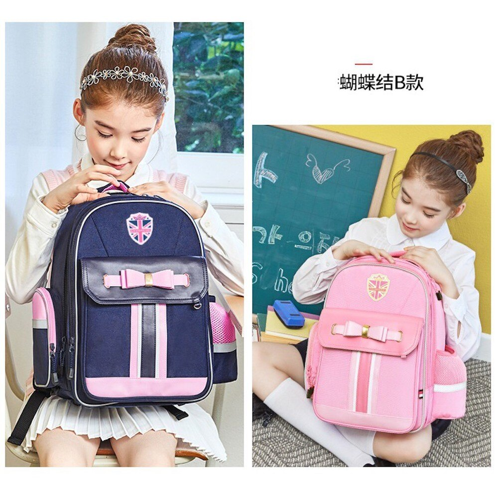 【韓國品牌書包】【超高CP值護脊書包】韓國原創品牌兒童書包 粉色貴族系 小公主最愛 低年級高年級都可背