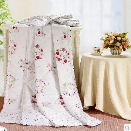 夏涼被特價 夏被空調被印花單雙人純棉正品 被子