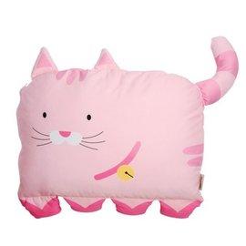 【淘氣寶寶】Milo& & Gabby 動物好朋友-大枕頭套【100%純棉透氣舒適】
