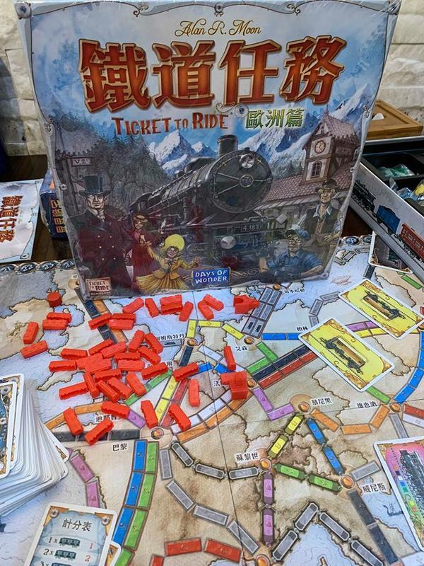 鐵道任務 歐洲篇 Ticket to ride Europe 繁體中文版 高雄龐奇桌遊 正版桌遊專賣 玩樂小子