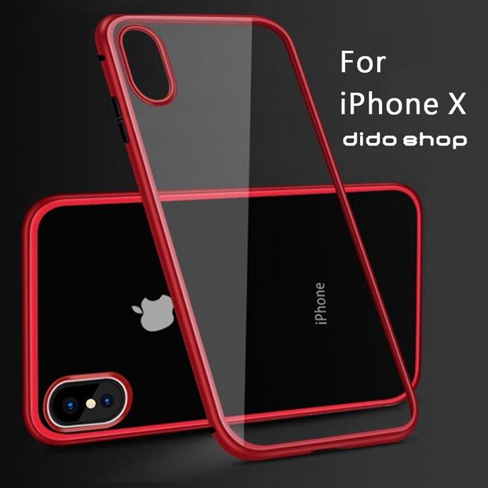 iPhone X 5.8吋 磁吸式鋼化玻璃手機殼 手機保護殼(WK004)【預購】