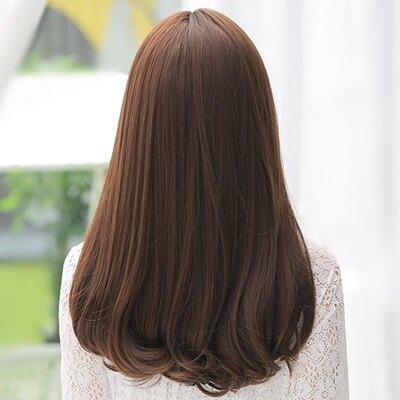 長假髮整頂假髮-中分內彎及胸長直髮女假髮73rr50【獨家進口】【米蘭精品】