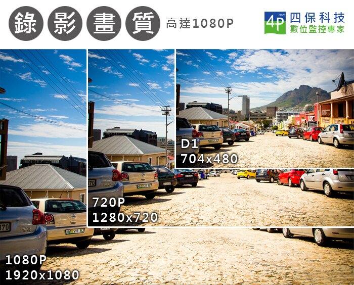 8路4音 1080P/720P/960H混合式 高畫質數位錄影機/手機監看(4P-HS-HA8111)