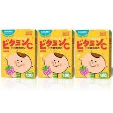 孕哺兒 小兒維他命C+乳鐵蛋白(草莓口味)150錠 (4盒免運)