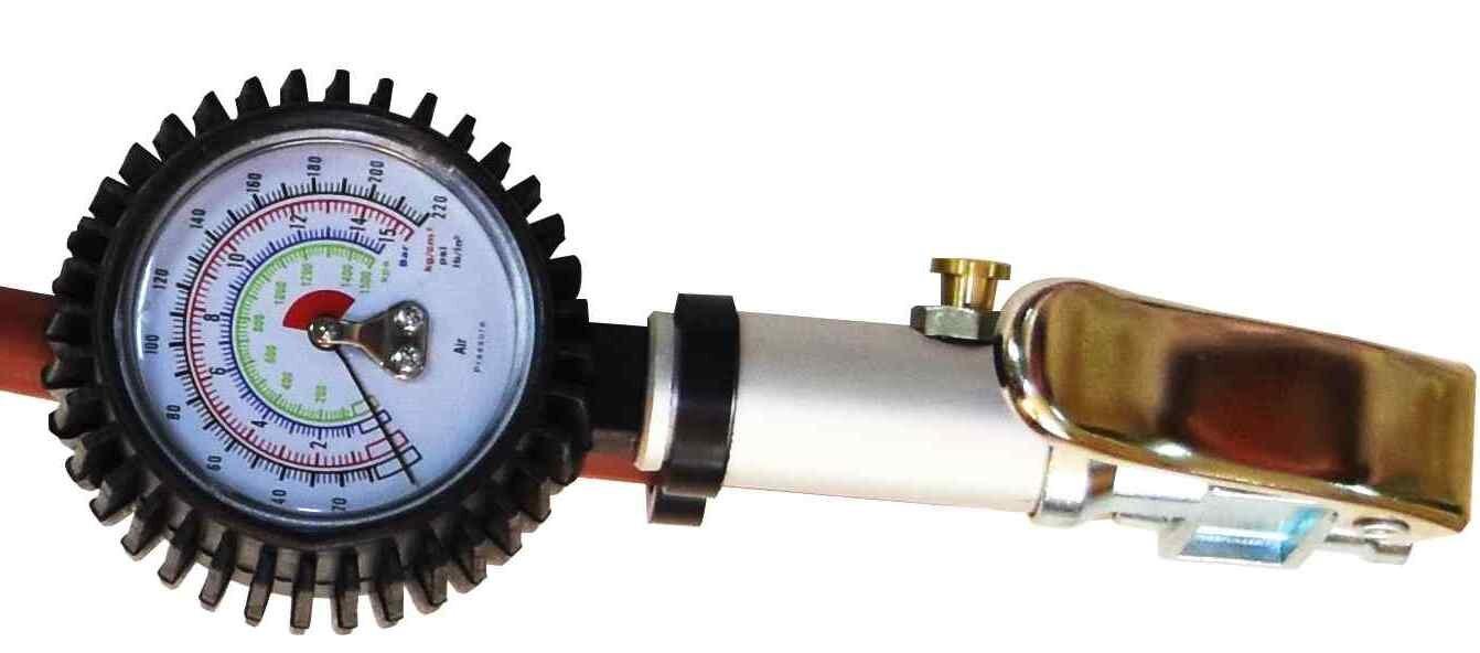 *韋恩工具* AOK 高階專業用 高精密度 胎壓器 胎壓計 胎壓偵測器 打氣量壓表 胎壓表 KC-08576