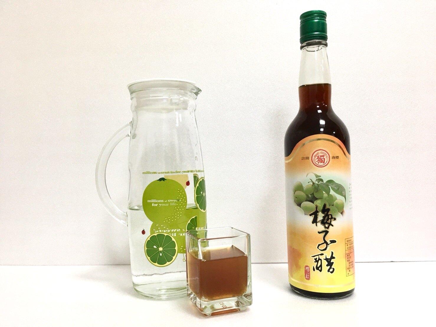 【梅子醋】含冰糖,純釀造水果醋--600毫升禮盒
