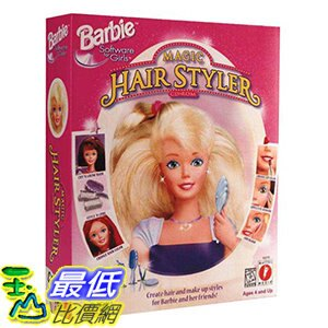 [106美國暢銷兒童軟體] Barbie Magic Hair Styler (Jewel Case) - PC