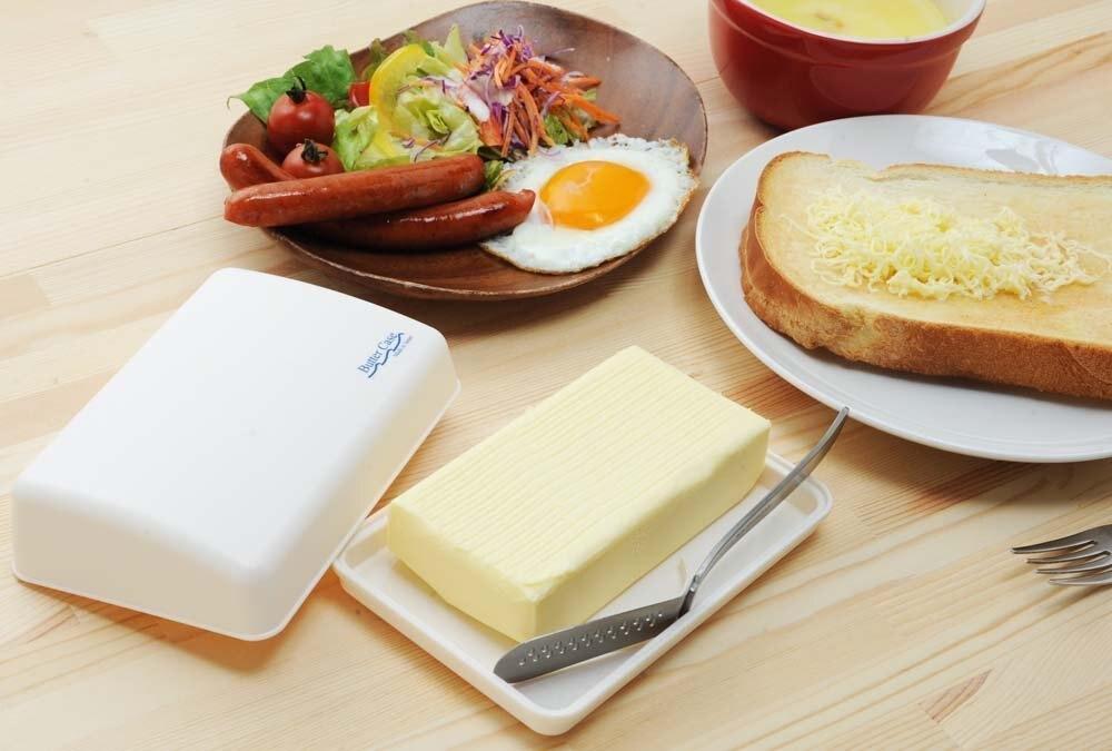 日本品牌【Arnest】淺型奶油盒 A-76691