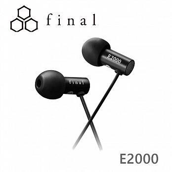 Final E2000C 支援智慧型手機 E2000 線控耳道式耳機 兩色可選 | 金曲音響