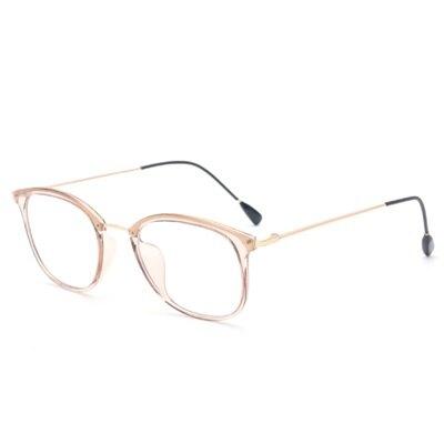 眼鏡框細框眼鏡鏡架-透明果凍色時尚百搭男女平光眼鏡7色73oe13【獨家進口】【米蘭精品】