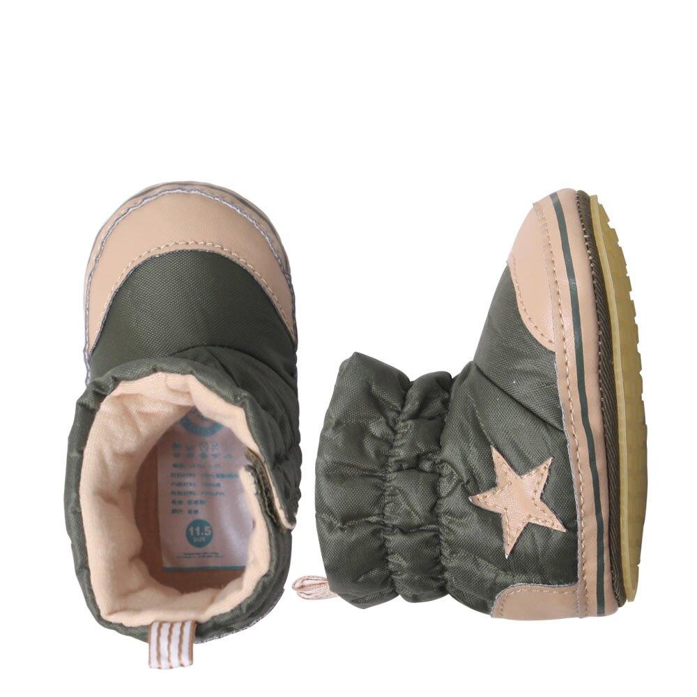 嬰兒學步鞋 短靴軟底鞋保暖鞋 34101
