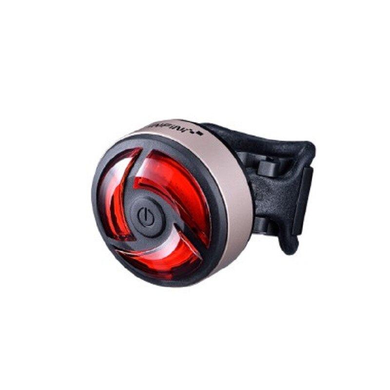 【7號公園自行車】INFINI TURBO USB充電式警示後車燈(黑/金/銀)