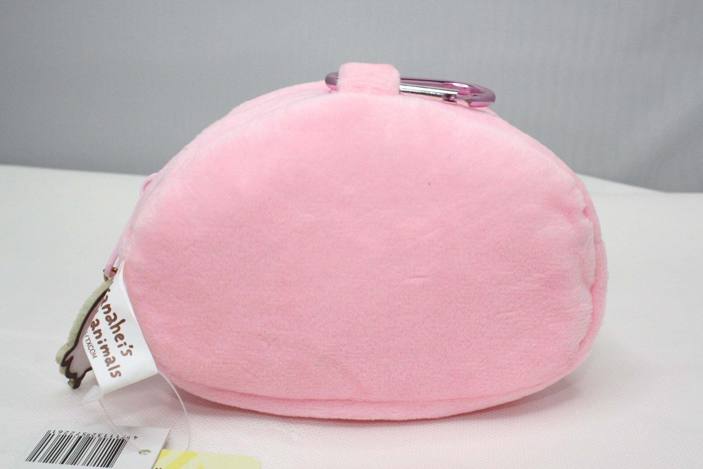 大賀屋 卡娜赫拉 錢包 零錢包 小袋子 硬幣包 收納包 刺繡 粉兔 兒童 口紅包 大容量 正版 授權 02223216