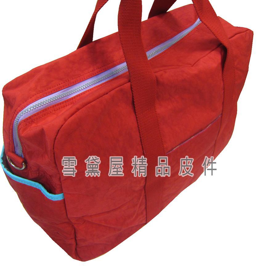 限時 滿3千賺10%點數↘ | ~雪黛屋~Velamtino 旅行袋中容量超輕防水尼龍布外水瓶袋可手提肩背斜側背摺疊收納附活動長背BA100012309
