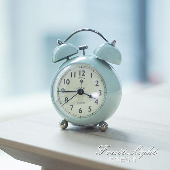 鬧鐘 北極星鬧鐘床頭懶人超大聲音創意鬧錶學生小指針鬧鐘走時靜音 雙12購物節