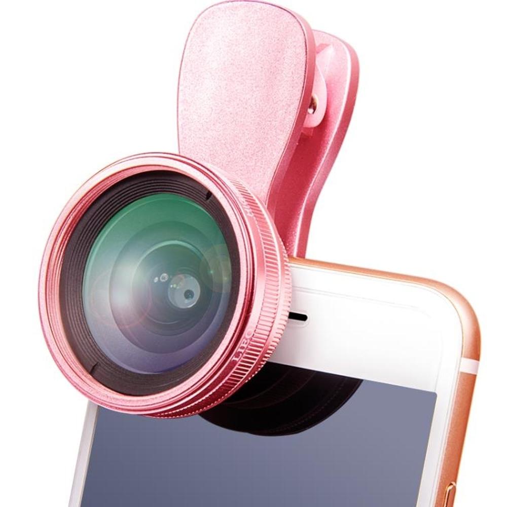 免運 廣角鏡頭 通用高清抖音神器美顏直播補光燈廣角手機鏡頭微距單反拍照相攝像
