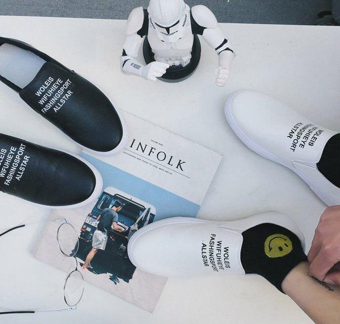 【JP.美日韓】韓國 代購  仿真皮 高品質 優惠 小白鞋 白趴 裝備 白鞋 質感設計 男鞋
