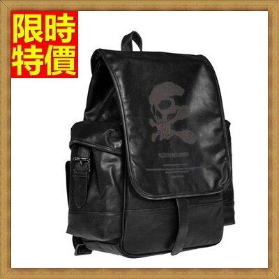 後背包 雙肩包-新款韓版骷髏頭個性男女包包66m30【獨家進口】【米蘭精品】
