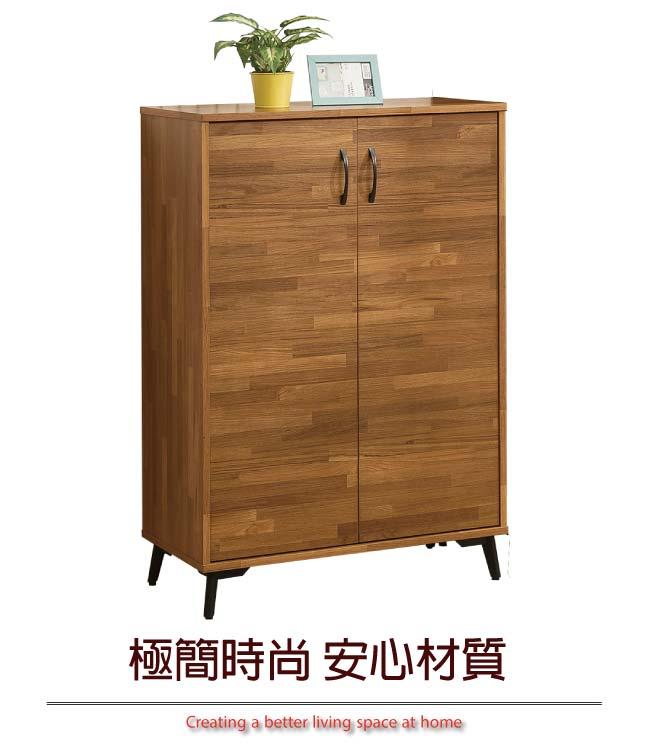 【綠家居】福特 時尚2.7尺二門鞋櫃/收納櫃