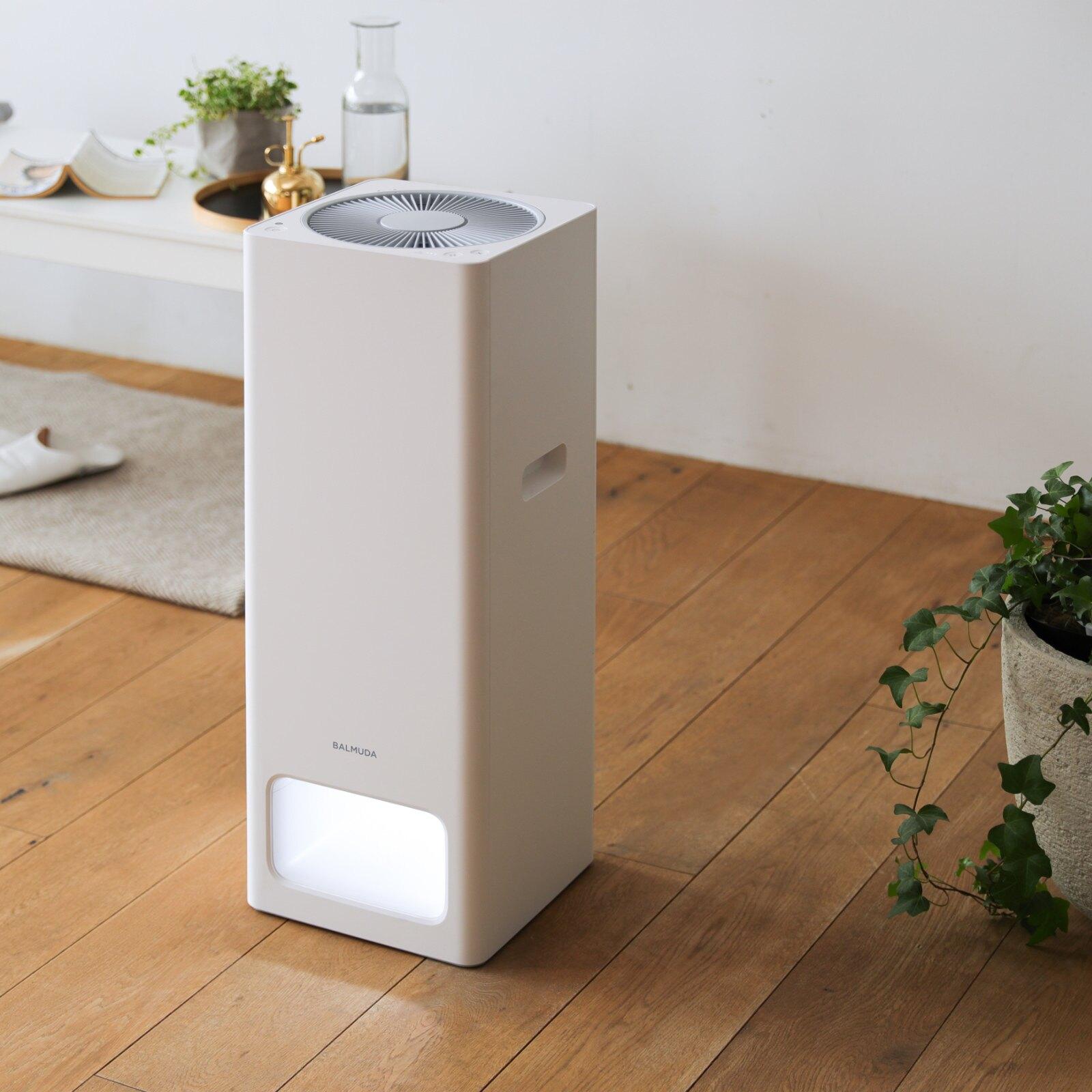 【贈濾網】【送10倍點數】BALMUDA The Pure 空氣清淨機 白色 A01D-WH  全新公司貨 免運